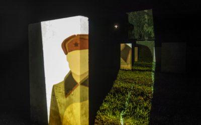 Dochter soldaat eregast pre-première LICHT